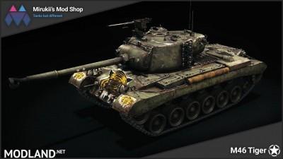 Mirukii's M46 Tiger Remodel [1.5.1.0], 1 photo